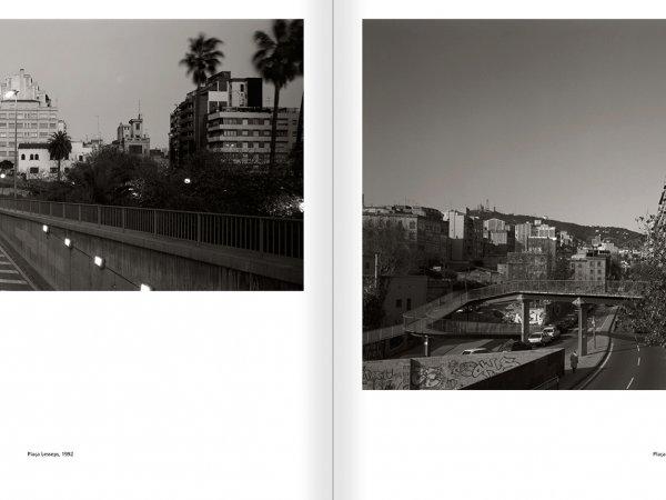 """Selecció del catàleg """"Barcelona 1978-1997. Manolo Laguillo"""" pàgines 174 i 175"""