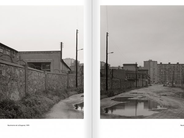Selection from the catalogue 'Barcelona 1978-1997. Manolo Laguillo', pages 54 and 55