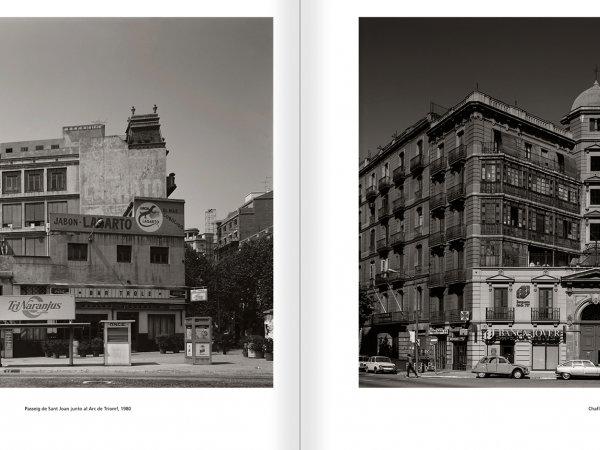 """Selecció del catàleg """"Barcelona 1978-1997. Manolo Laguillo"""" pàgines 86 i 87"""