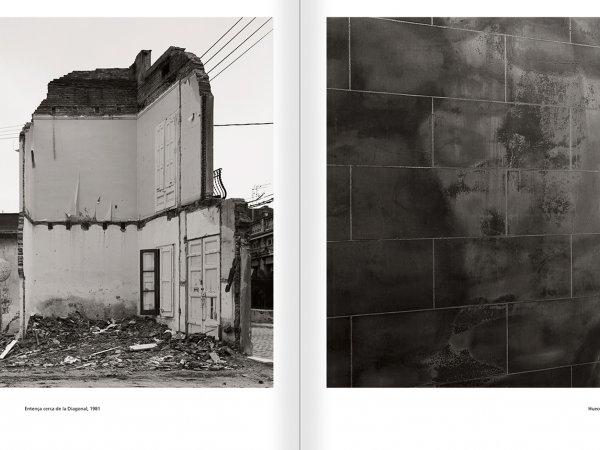 """Selecció del catàleg """"Barcelona 1978-1997. Manolo Laguillo"""" pàgines 94 i 95"""