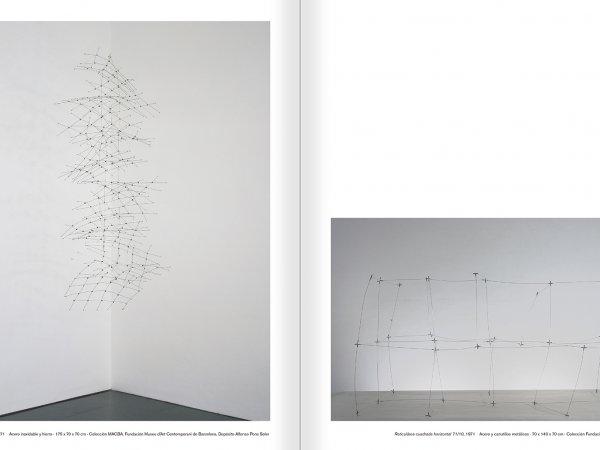 """Selecció del catàleg """"Gego. Desafiando estructuras"""" pàgines 130 i 131"""