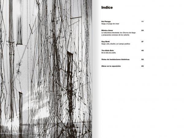 """Selecció del catàleg """"Gego. Desafiando estructuras"""" pàgines 6 i 7"""