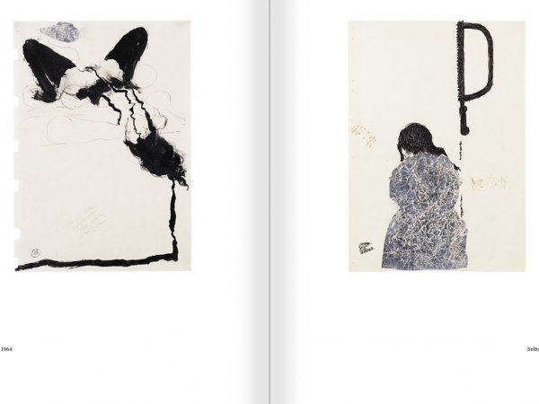 Selection from the catalogue 'Günter Brus. Nervous stillness on the horizon', pages 130 and 131