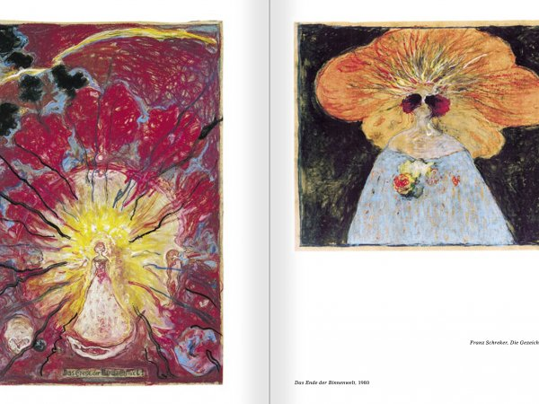 Selection from the catalogue 'Günter Brus. Nervous stillness on the horizon', pages 220 and 221