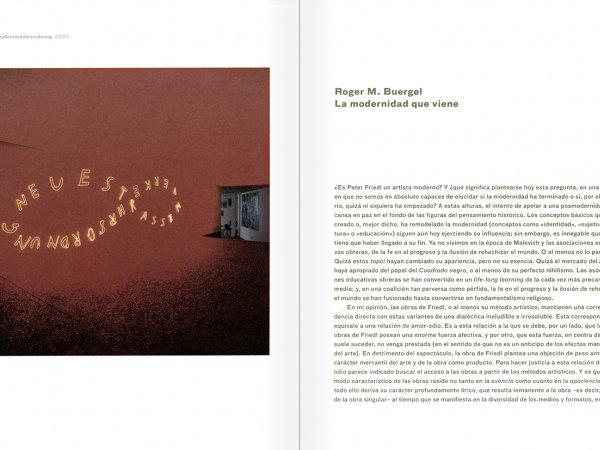 """Selecció del catàleg """"Peter Friedl: Obra 1964-2006"""" pàgines 274 i 275"""