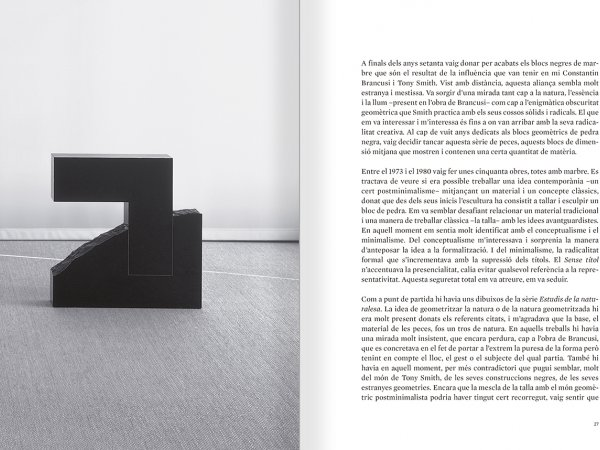 Selection from the catalogue 'Sergi Aguilar. Revers anvers', pages 26 and 27