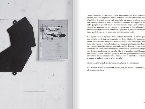 Selection from the catalogue 'Sergi Aguilar. Revers anvers', pages 76 and 77
