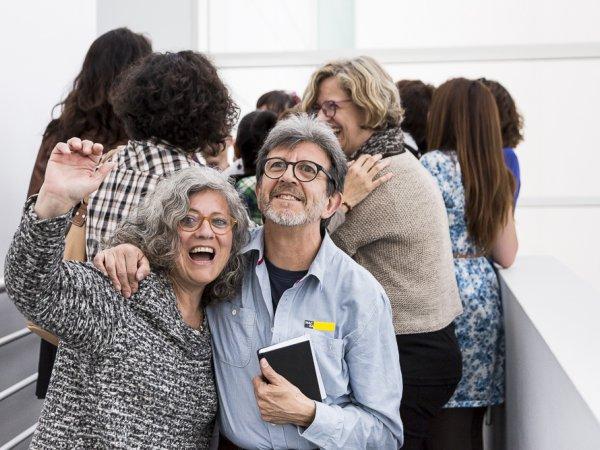 Workshop Activar l'aula, Mireia Saladrigas. Foto: © Eva Carasol / MACBA, 2015
