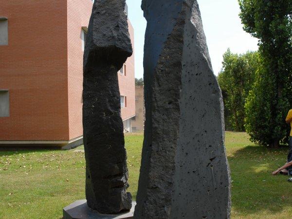 """Xavier Corberó """"S.M. La Reina i el Rei"""", 1989"""
