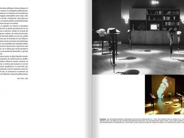 """Selecció del catàleg """"Francesc Torres. Da capo"""" pàgines 54 i 55"""