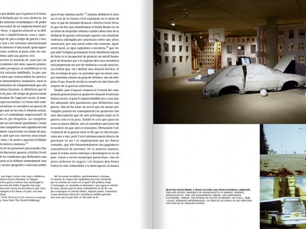 Selection from the catalogue 'Francesc Torres. Da capo', pages 70 and 71
