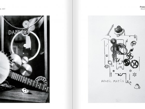 Selection from the catalogue 'Nancy Spero. Dissidances', pages 124 and 125