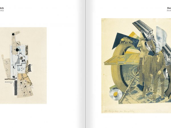 Selection from the catalogue 'Nancy Spero. Dissidances', pages 158 and 159