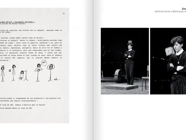 Selection from the catalogue 'Nancy Spero. Dissidances', pages 330 and 331