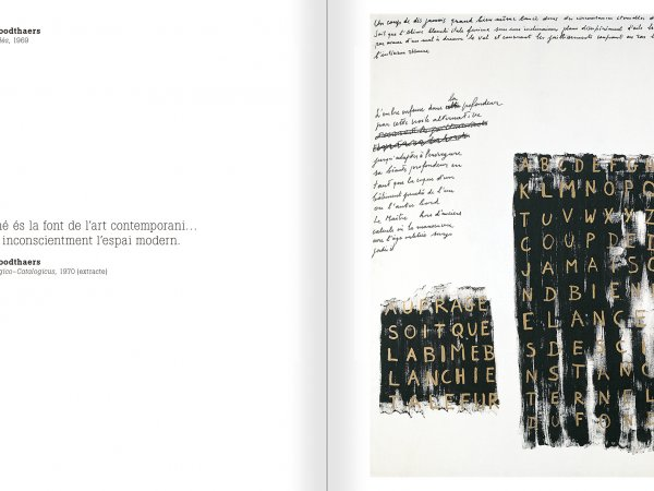 Selection from the catalogue 'Nancy Spero. Dissidances', pages 42 and 43