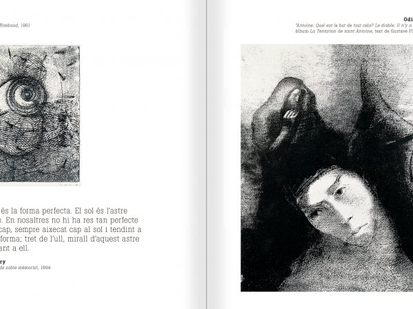 Selection from the catalogue 'Nancy Spero. Dissidances', pages 74 and 75