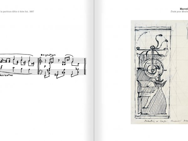 Selection from the catalogue 'Nancy Spero. Dissidances', pages 78 and 79