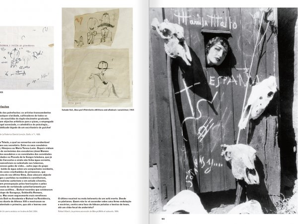 Selection from the catalogue 'A Theater without Theater', pages 92 and 93