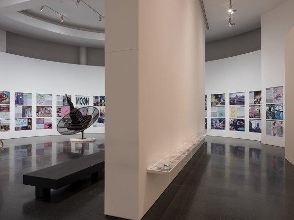 """Vistes de l'exposició """"MIRALDA MADEINUSA"""", 2016. Foto: Roberto Ruiz"""