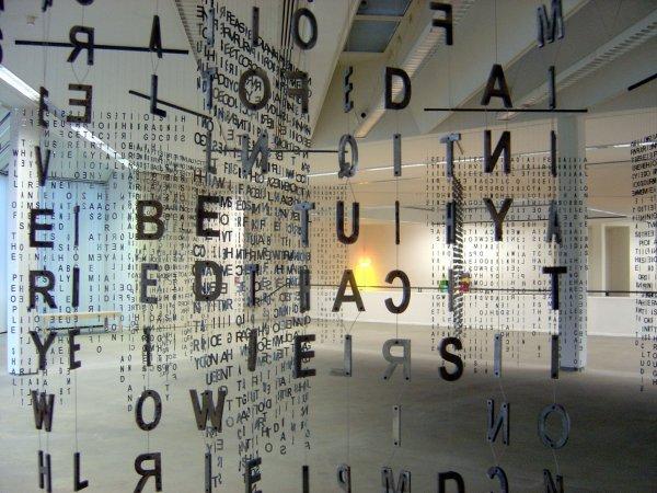 """Jaume Plensa """"Glückauf?"""", 2005"""