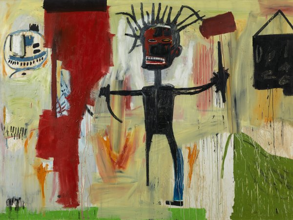 Basquiat: the intensity of angry art