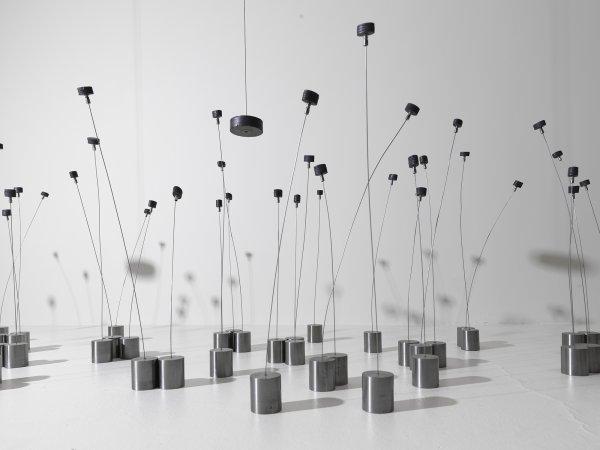 Champs magnétiques, 1969. Museo Solomon R. Guggenheim, Nova York. Donació parcial de Robert Spitzer per intercanvi, 1970