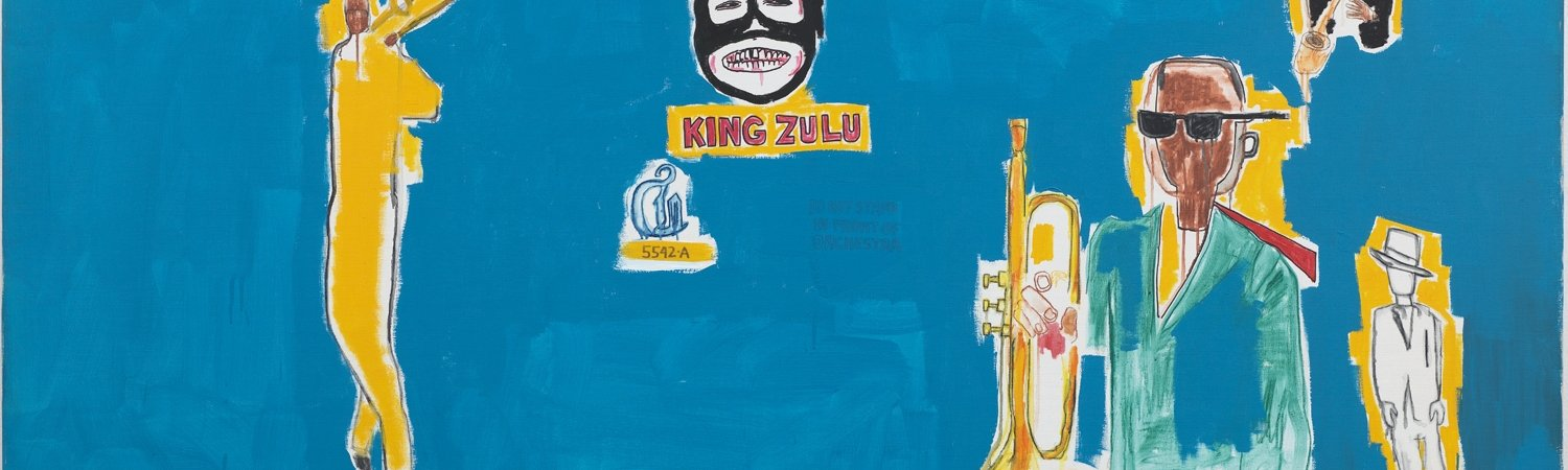 Jean-Michel Basquiat 'King Zulu', 1986