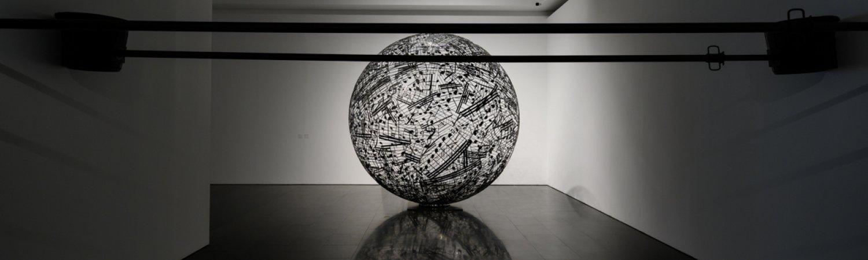 """Vista de l'exposició """"Jaume Plensa"""". Foto: Miquel Coll"""