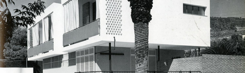 Casa Guardiola. Argentona, Barcelona. Oriol Bohigas;  Josep M. Martorell. 1954-1955. Foto: Francesc Català-Roca