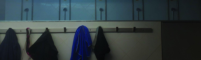 Trans en los baños del gym, registro fotográfico, 2019