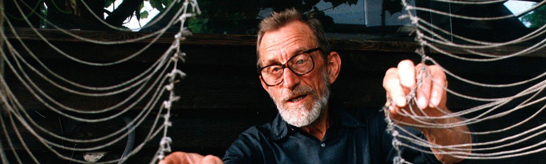 Oskar Hansen, 1986. Foto: Erazm Cio. © East News Poland