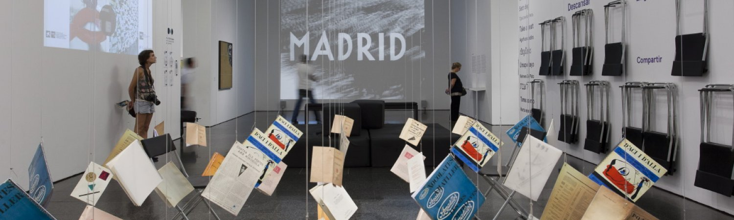 """Art, two points. Barcelona lives contemporary art"" exhibition views"