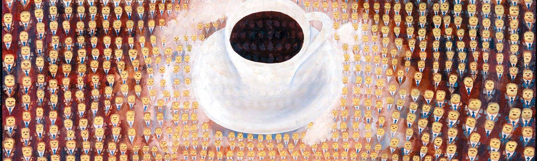 """Thomas Bayrle """"Maxwell Kaffee"""", 1967"""