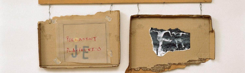 """Robert Filliou """"Permanent Playfulness"""", 1973"""