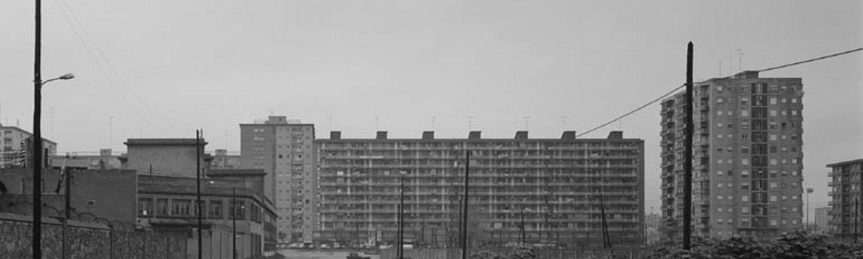 "Manolo Laguillo, ""Barcelona, nacimiento de la Diagonal"", 1979 (detall)"