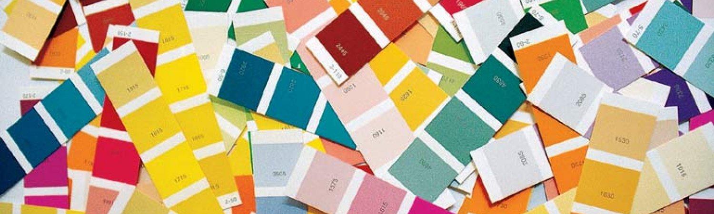 """Ignasi Aballí """"Cartes de Colors (desordenades)"""", 2003"""