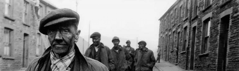 "Robert Frank ""Ben James, Coal Miner, Caerau, Wales"", 1953"