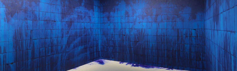 """Latifa Echakhch """"À chaque stencil une révolution"""", 2007"""