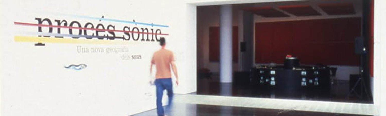 Sonic Process: A New Geography of Sounds. Photo: Miquel Bargalló