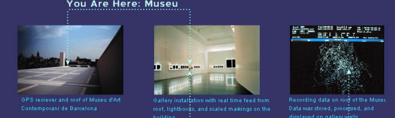 "Laura Kurgan ""You are here: MUSEU"", 1995"