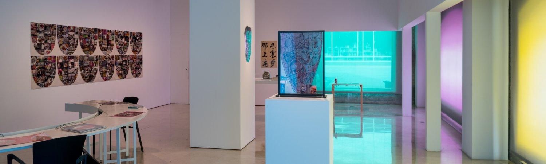 """Vista de la exposición de Antoni Miralda """"Twin Tastes & Tongues"""", 2013"""