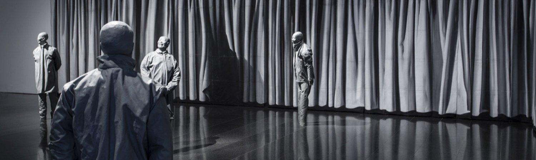 """The Nature of Visual Illusion"" de Juan Muñoz, 1994-1997 <br>Foto: Rafael Vargas"
