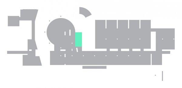 Plano de localización de espacio