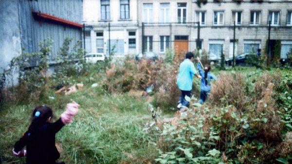 Lara Almarcegui, Abrir un descampado, Bruselas, 2000.