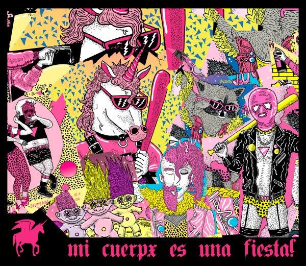 """Furia Queer""""Mi cuerpx es una fiesta!"""""""
