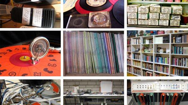 Instantànies d'algunes de les col·leccions sonores que hem compartit a la sèrie de podcasts MEMORABILIA. Col·leccionant sons amb...