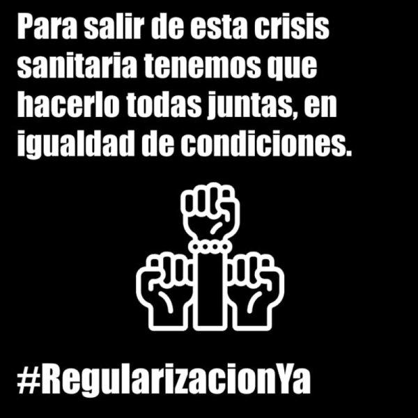 #RegularizaciónYa