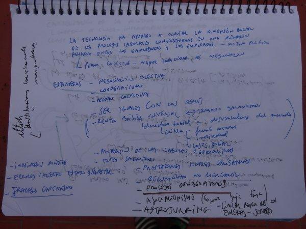 Notas de la entrevista con César Rendueles