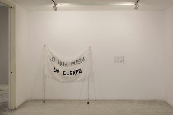 """Cabello/Carceller """"Lo que puede un cuerpo"""". Vista Galeria Joan Prats"""