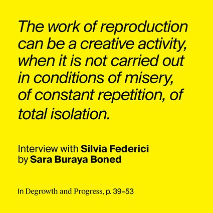 Interview with Silvia Federici by Sara Buraya Boned